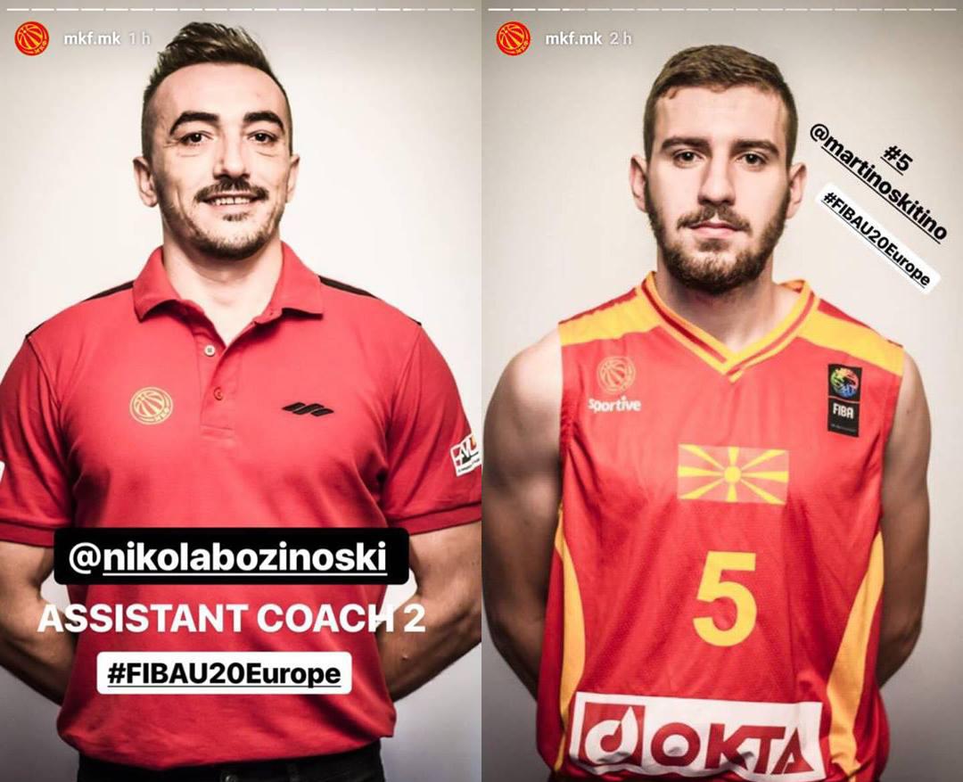 #FIBAU20Europe Б Дивизија
