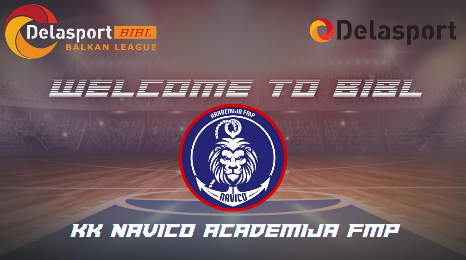 Навико Академија ФМП ќе учествува во БИБЛ Лигата во сезоната 2021/22