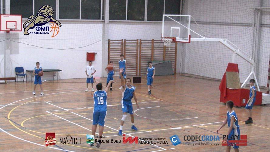 Видео: КК Академија ФМП - КК Спарта 90-30